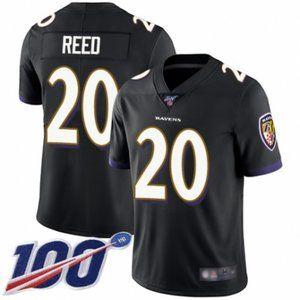 Ravens Ed Reed 100th Season Jersey